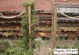 How To Build A Garden Rope Fence Ropes Direct Ltd Ropes Direct