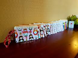 pouches with personalised names