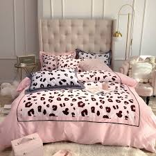 y girls pink white and black leopard