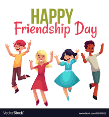 Happy friendship day greeting card ...