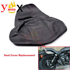 thick black pu leather motorcycle