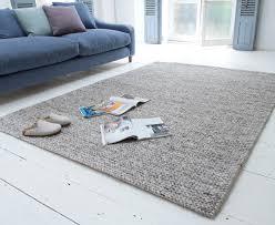 yarn rug chunky wool floor rug loaf