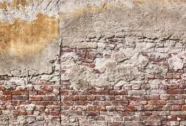 brick wall cement party wallpaper