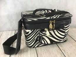 alear zebra print makeup case w