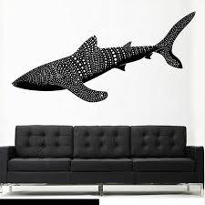 Wall Vinyl Sticker Decals Decor Fish Whale Shark Predator Ocean Sea Horror Z2690 For Sale Online Ebay