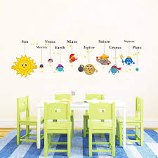 Rawpockets Wall Decals Solar System Wall Stickers Pvc Vinyl Multicolour Buy Online In Cambodia Rawpockets Products In Cambodia See Prices Reviews And Free Delivery Over 27 000 Desertcart