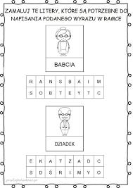 Znalezione obrazy dla zapytania dzień babci karty pracy (With ...