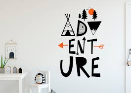 Adventure Wall Decal Mountain Wall Decal Nursery Wall Decal Woodland Decal Adventure Kids Room Wall Decals Mountain Wall Decal Nursery Mountain Wall Decal