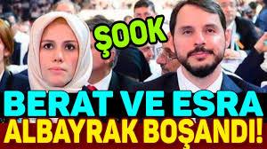 Berat Albayrak ve Esra Albayrak Boşandı İddiası - YouTube