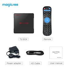 Magicsee N5 NOVA Android 9.0 TV Box Quad Core 4K 2GB/ 16GB HD ...