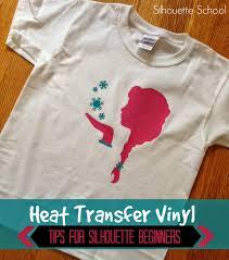 Silhouette Heat Transfer Vinyl Tips For Beginners Silhouette School