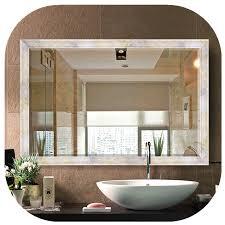 mirror 110x80 cold white wall