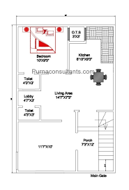 house plans for 600 sq ft land area