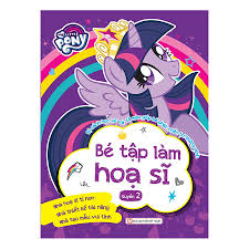 Combo Pony : Bộ Sách Học Vẽ Và Tô Màu Giúp Bé Phát Triển Trí Thông ...