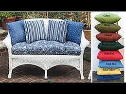 wicker furniture cushions replacement