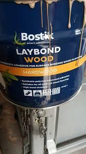 laybond wooden floor adhesive in