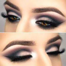 cool makeup looks for hazel eyes and a