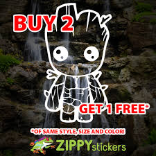 Baby Groot Decal Vinyl Decal Sticker Guardians Of The Galaxy Parody I Am Groot Zippy Stickers Vinyl Decal Stickers