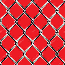 Seamless Detailed Chain Link Fence Pattern Texture Premium Vector In Adobe Illustrator Ai Ai Format Encapsulated Postscript Eps Eps Format