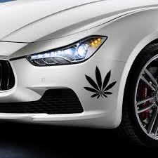 Hot Sale Car Stying For Weed Plant Leaf Car Decal Accessories Sticker Vinyl Decals Jdm Sticker Vinyl Vinyl Decalstickers Jdm Aliexpress