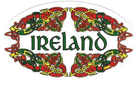 Irish Driving Plates Irish Fun Stickers