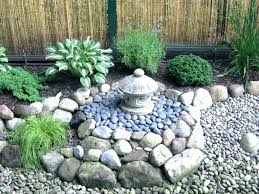 how to make a small rock garden