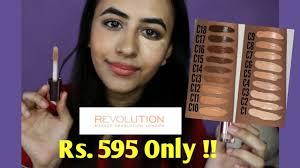 makeup revolution concealer review