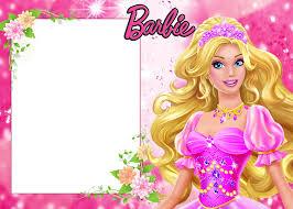 Barbie Invitaciones Y Marcos Para Imprimir Gratis Invitaciones