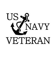 Us Navy Veteran Vinyl Decal Car Truck Window Laptop Sticker Kandy Vinyl Shop