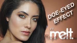 doe e makeup tutorial ft melt rust