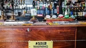 This British Pub Installed An Electric Fence In Front Of The Bar To Encourage Social Distancing News Break