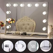 best hollywood lighted vanity mirror