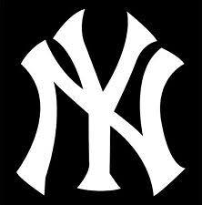 Yankees Rear Window Decal Ebay