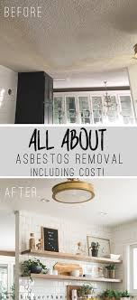 asbestos removal and drywall install