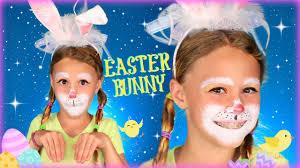 kids easter bunny makeup tutorial