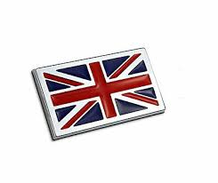 Metal The Union Jack Car Sticker Badge British Flag Auto Doors Decal Rear Emblem Ebay