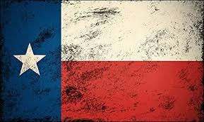 Amazon Com Large Vintage Texas Flag Sticker Tx Texan Distressed Old Big Kitchen Dining