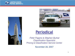 PPT - Periodical Peter Pagano & Stephen Burkat Classification Specialist  PowerPoint Presentation - ID:4571825