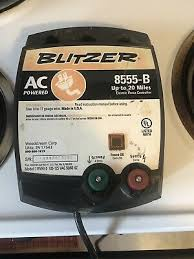 Fencing Blitzer Electric Fence
