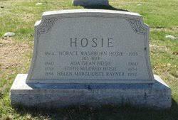 Ada Dean Hosie (1860-1960) - Find A Grave Memorial