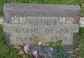 """Mary Jane """"Mayme"""" Cole Olson (1889-1954) - Find A Grave Memorial"""