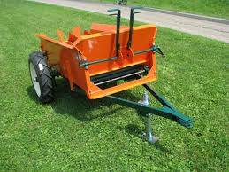 manure spreader handles fine practical