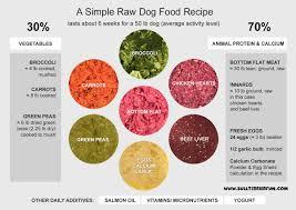 djammy s homemade raw dog food recipe
