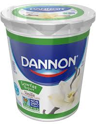 dannon clics yogurt vanilla lowfat