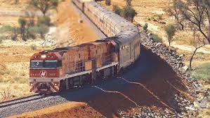 The Ghan Train of Australia