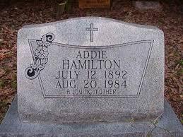 HAMILTON, ADDIE - Ouachita County, Arkansas | ADDIE HAMILTON - Arkansas  Gravestone Photos