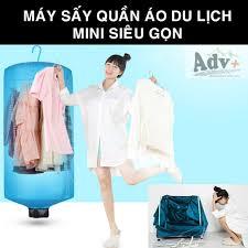 FREESHIP 70K] Máy sấy quần áo du lịch mini siêu gọn nhẹ [MUÔN PHƯƠNG SHOP]