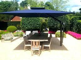 umbrella patio rectangular cantilever