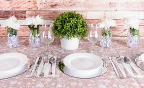 round mirror wedding table centerpieces