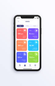 how to design a fitness app ui in sketch